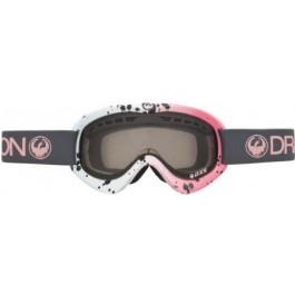 Ochelari Schi si Snowboard Dragon DXs Roz/Albi / Smoke