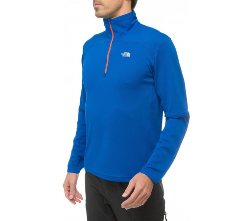 Bluza The North Face M Nihon 1/4 Zip Albastru
