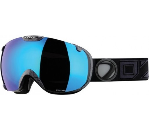 Ochelari schi si snowboard Dye T1 Brisse Polarized Negri
