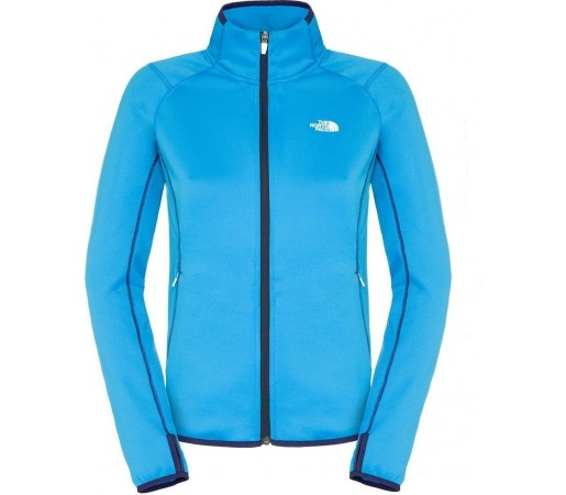 Midlayer The North Face Skerium W FZ Blue
