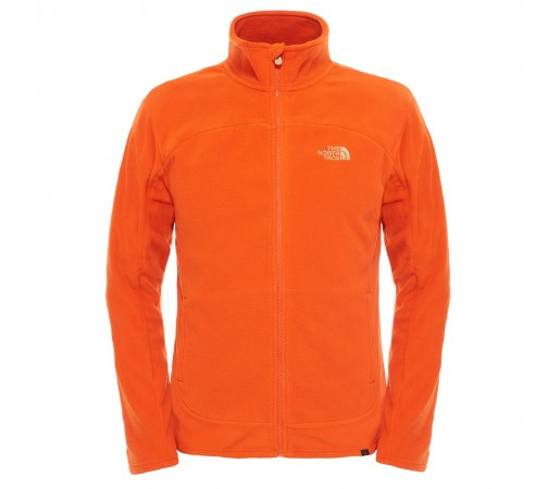 Polar The North Face M 100 Glacier Full Zip Portocaliu