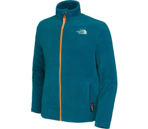 Polar The North Face Y Snow Quest Full Zip Blue