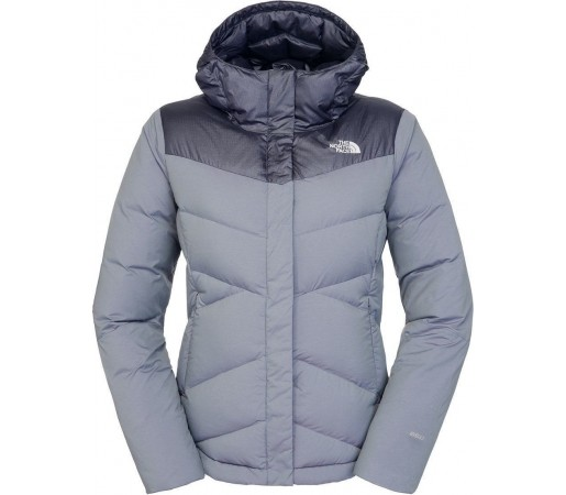 Geaca The North Face Womens Kailash Hoodie  Greystone Blue