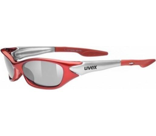 Ochelari de soare Uvex Sporty Rosu/Gri