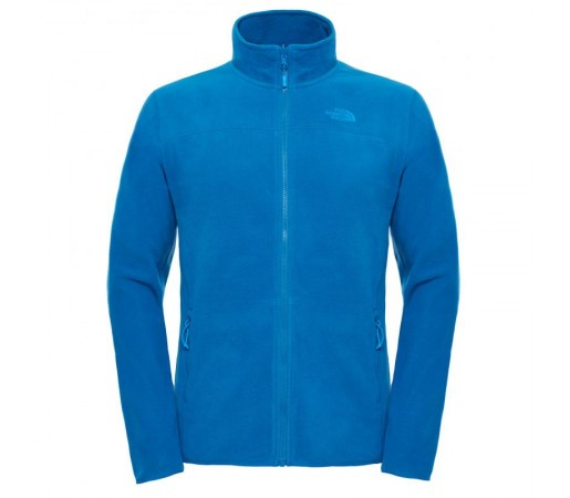 Polar The North Face 100 Glacier Full Zip M Albastru/Negru