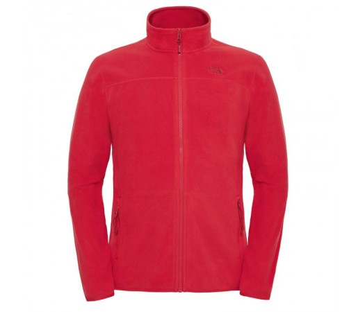 Polar The North Face 100 Glacier Full Zip M Rosu