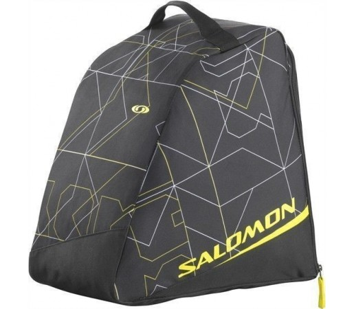 Husa clapari Salomon Black/Corona Yellow 2013
