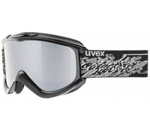 Ochelari Ski si Snowboard Uvex FX Flash Negru/Gri