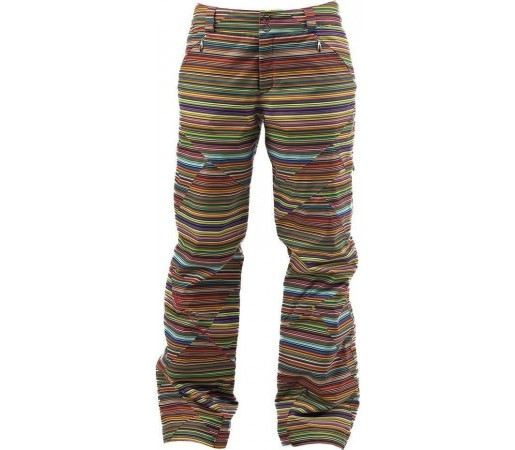 Pantaloni schi si snowboard Spyder Thrill Tailored Fit Wavelength Print