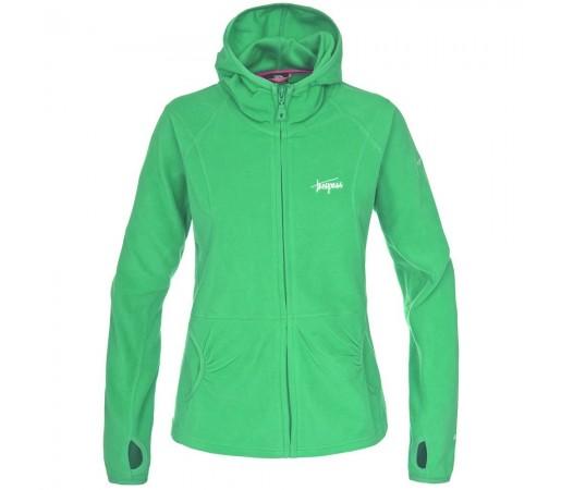 Jacheta fleece Trespass Marathon Verde