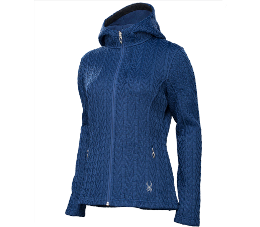 Midlayer Spyder Major Core Hoody Albastru
