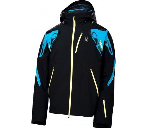 Geaca Schi si Snowboard Spyder Pinnacle Negru/Albastru