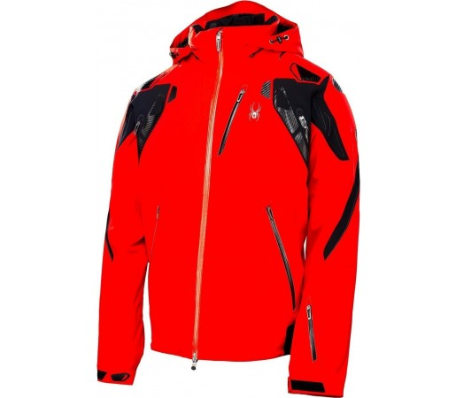 Geaca Schi si Snowboard Spyder Pinnacle Rosu