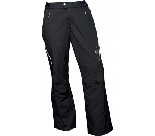 Pantaloni Schi si Snowboard Spyder Thrill Tailored Fit Negru
