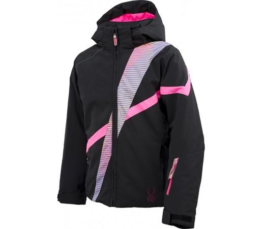 Geaca Schi si Snowboard Spyder Girl's Tresh Black/Gradient Multi Print