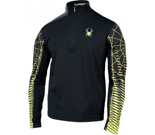 Midlayer Spyder Webstrong Black/Green