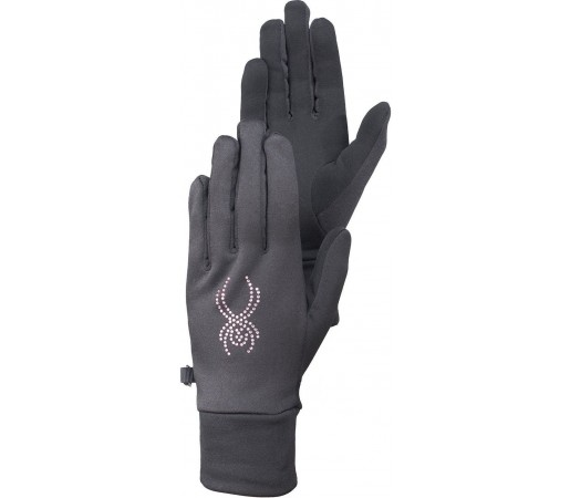 Manusi Spyder Stretch Fleece Conduct Black/White