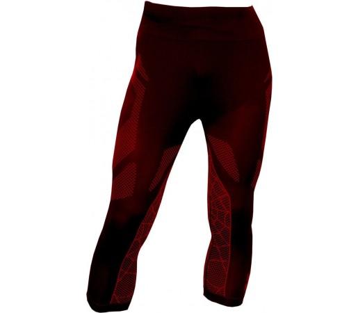 Pantaloni First-Layer Spyder Captain 3/4 Negru/Rosu