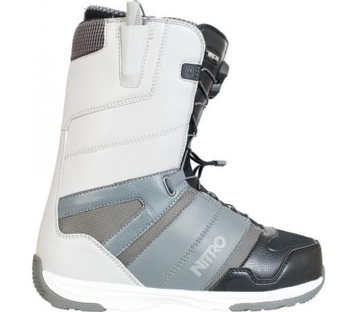 Boots Snowboard Nitro Anthem TLS Alb/Gri 2014
