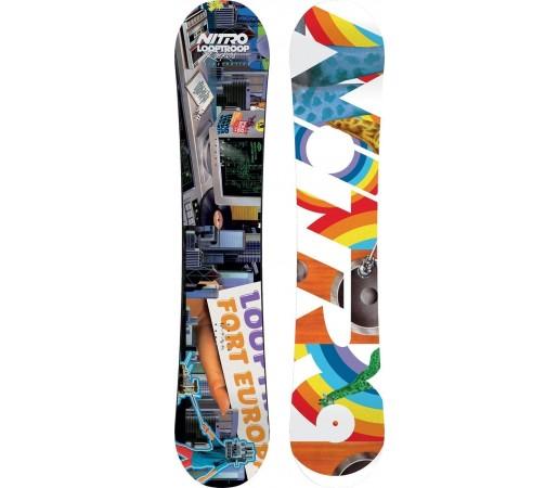 Placa Snowboard Nitro Cinema X Looptroop Rockers 2014