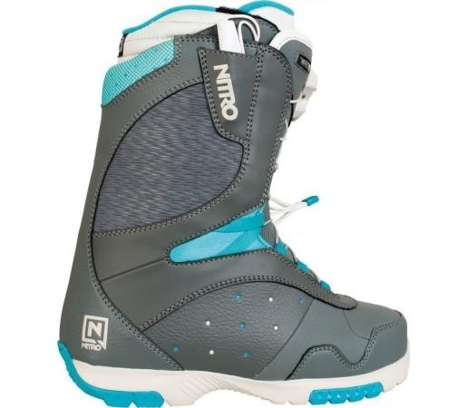 Boots Snowboard Nitro Crown TLS Gri/Albastru 2014