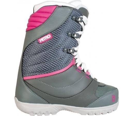 Boots Snowboard Nitro Cuda Gri/Roz 2014