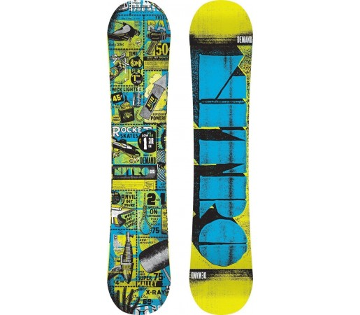 Placa Snowboard Nitro Demand 2014