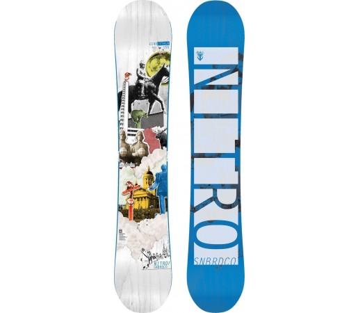 Placa Snowboard Nitro Eero Ettala Pro Model 2014