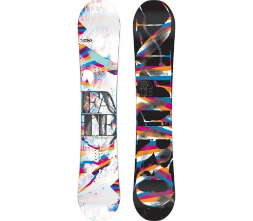 Placa Snowboard Nitro Fate Zero 2014