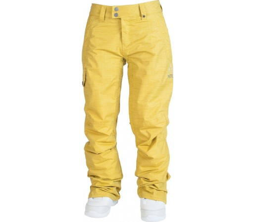 Pantaloni Snowboard | Ski Nitro W Fever Galben