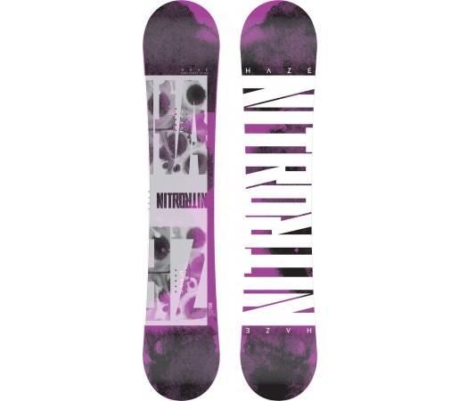 Placa Snowboard Nitro Haze 2014