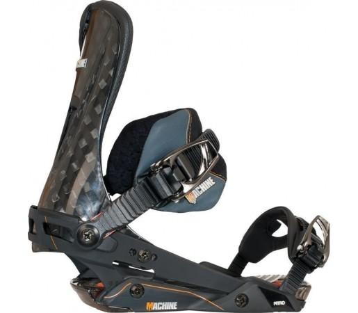 Legaturi Snowboard Nitro Machine Negru 2014