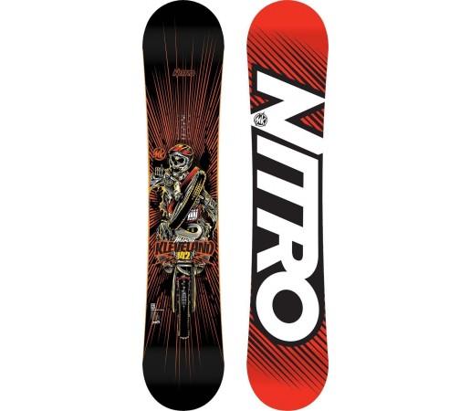 Placa Snowboard Nitro Marcus Kleveland Mini Pro 2014