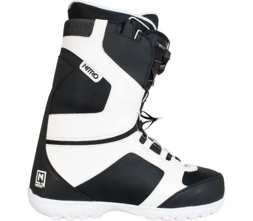 Boots Snowboard Nitro Nomad TLS Alb/Negru 2014