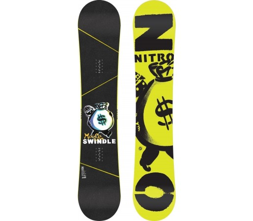 Placa Snowboard Nitro Swindle 2014