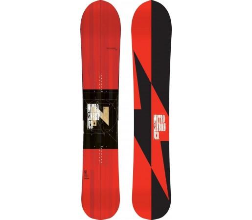 Placa Snowboard Nitro Thunder Splitboard 2014