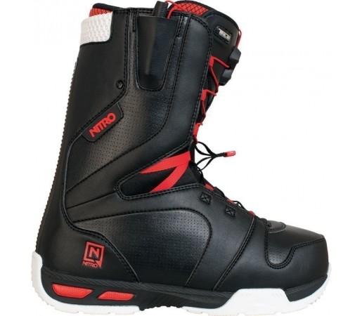 Boots Snowboard Nitro Venture TLS Negru/Rosu 2014