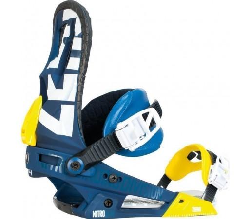 Legaturi Snowboard Nitro Zero Albastru 2014
