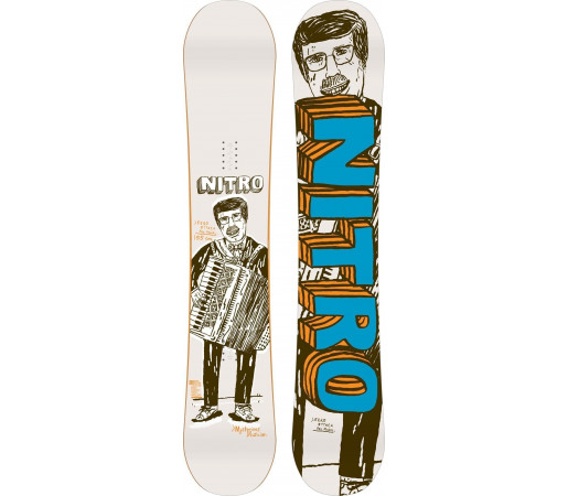 Placa Snowboard Nitro Eero Ettala Pro 2015