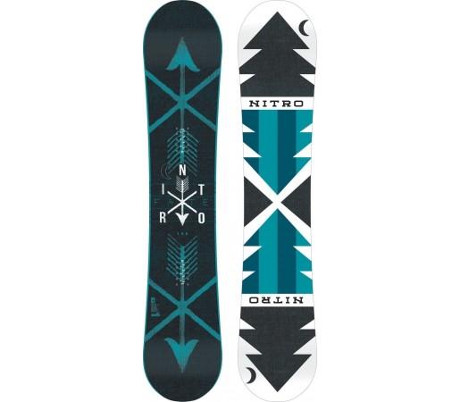 Placa Snowboard Nitro Fate Zero 2015