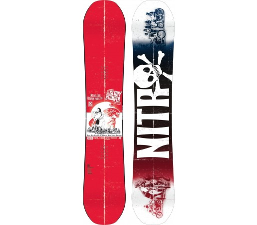Placa Snowboard Nitro Glory Stomper 2015
