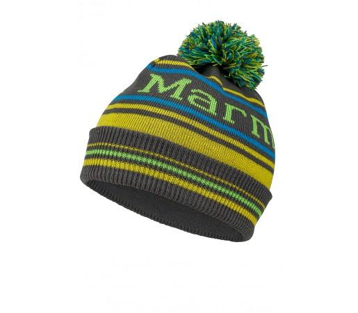 Caciula Marmot Jr. Retro Pom Verde