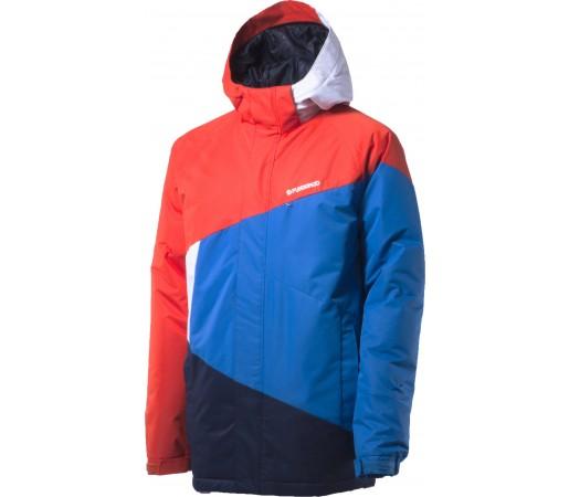 Geaca schi si snowboard Fundango Blizzard Rosu/ Albastru