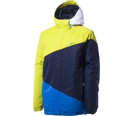 Geaca schi si snowboard Fundango Blizzard Galben/ Albastru