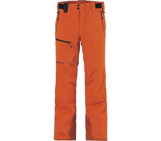 Pantaloni schi si snowboard Scott Ultimate Dryo Verzi Portocalii