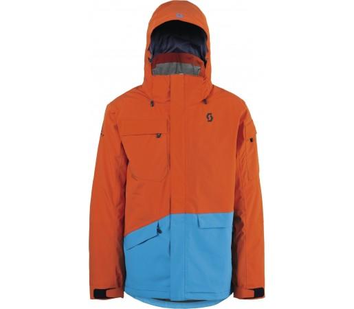 Geaca schi si snowboard Scott Terrain Dryo Plus Portocalie/Albastru