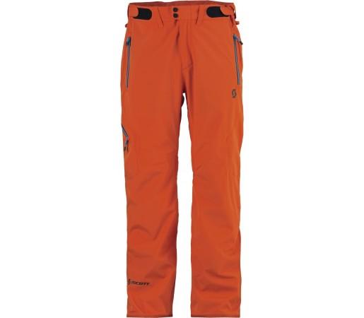Pantaloni schi si snowboard Scott Dryo Portocalii