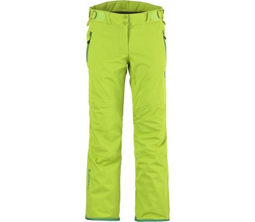 Pantaloni schi si snowboard Scott Ultimate Dryo Lady Verzi