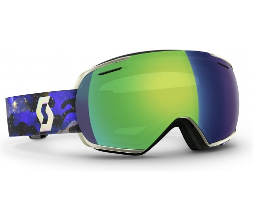 Ochelari schi si snowboard Scott Linx Albastru/Verde
