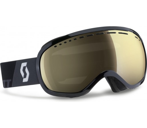 Ochelari schi si snowboard Scott Off-Grid Negru/Galben